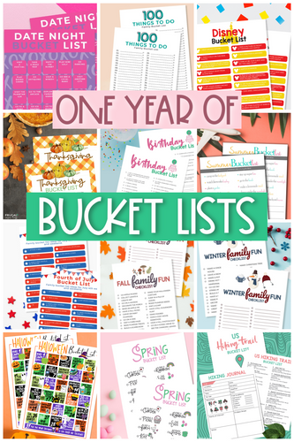 Year-Round Family Bucket List Bundle