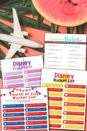 Summer Family Bucket List Bundle