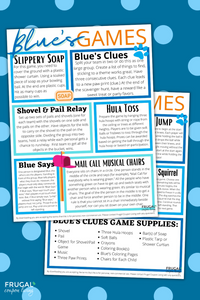 Blue's Clues Party Games