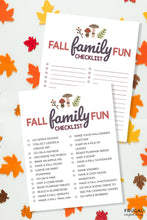 Load image into Gallery viewer, Fall Family Bucket List Bundle