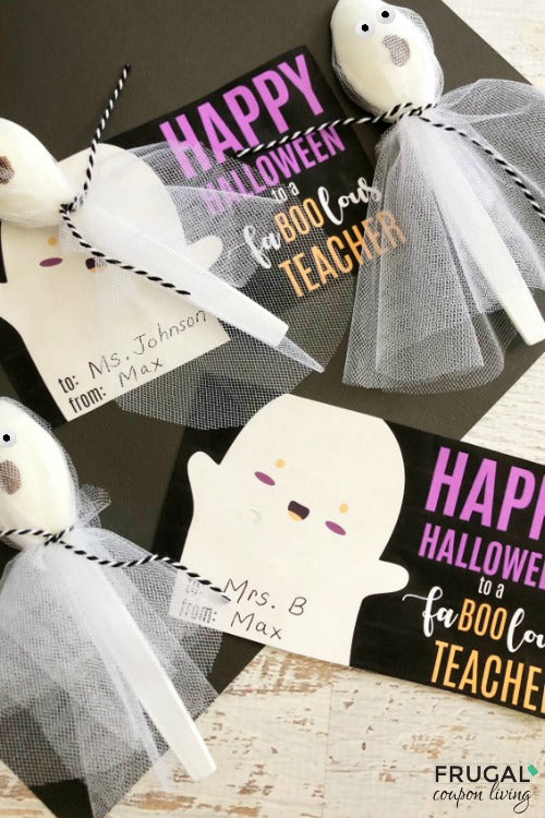 Fa-Boo-lous Teacher Halloween Gift Tag