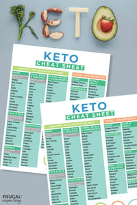 Keto Cheat Sheet