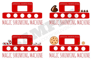 Elf Magic Shrinking Machine