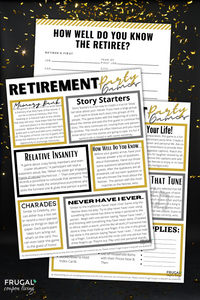 Retirement Party Games