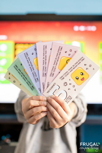 Screen Time Tickets for Kids