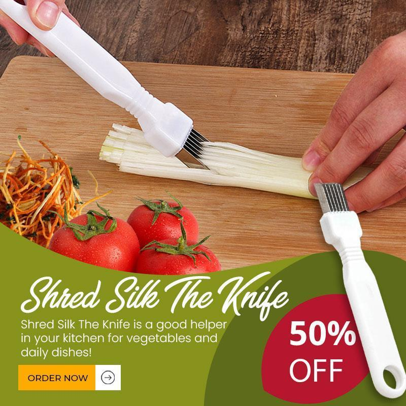 ?Christmas limited time offer? Shred Silk The Knife