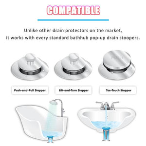 Ultimate Sink Hair Strainer(Set of 3)