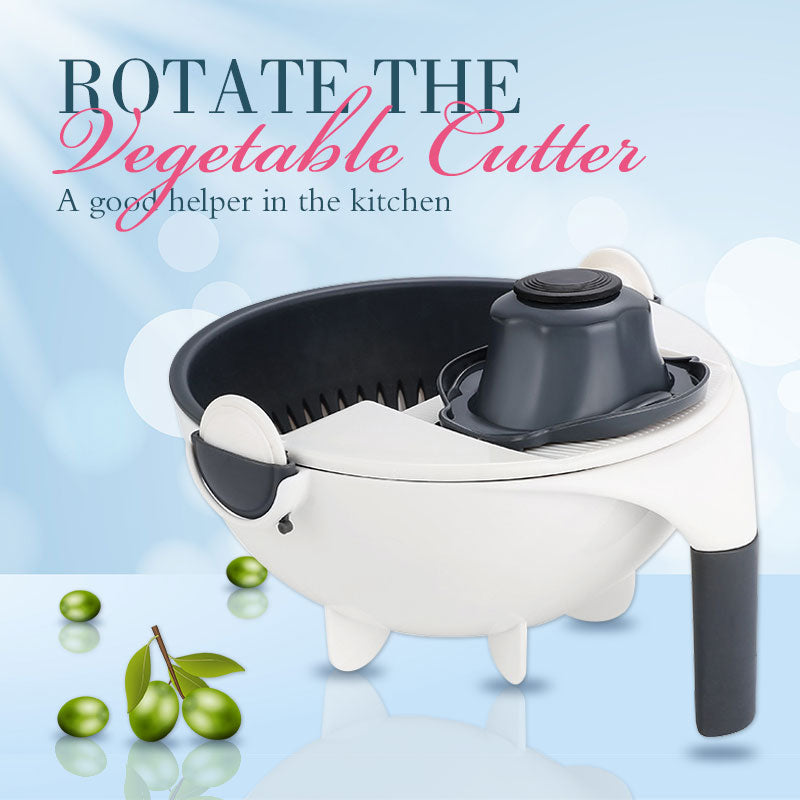 (Christmas promotion-50% OFF and Free Shipping)Rotate The Vegetable Cutter