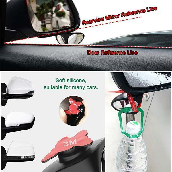 Car Blind Spot Rearview Mirror