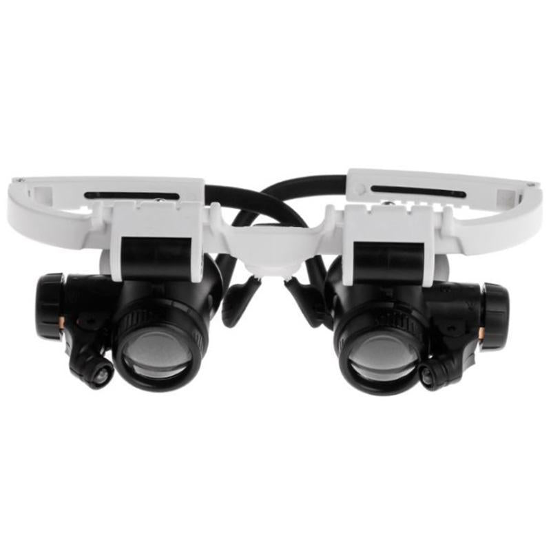 LED Glasses Magnifier 8x 15x 23x