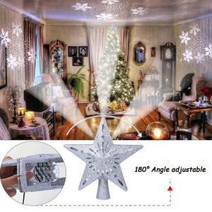 LED Christmas Tree Projection Lamp