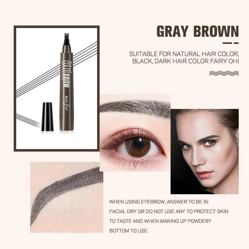 4 Points Eyebrow Pen