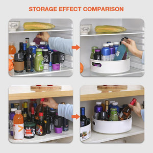 Multi-Function Anti-Skid Rotary Storage Tray(50% OFF)