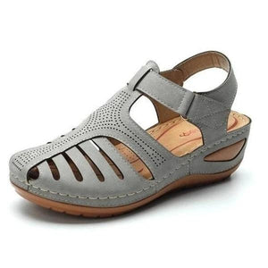 Anti-seasonal promotion-New Retro Leather Sandals