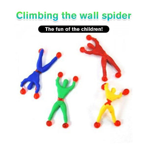 Climbing The Wall Spider£¨10 PCS )