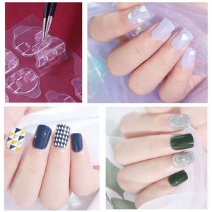 Nail art Jelly gum Sticker(50% off)