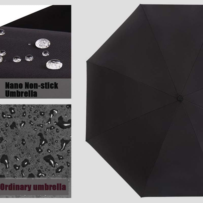 Black Technology Folding Nano Non-stick Umbrella