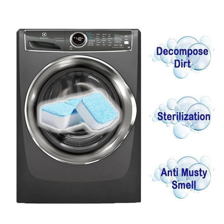 Antibacterial Washing Machine Cleaner (6 pcs)