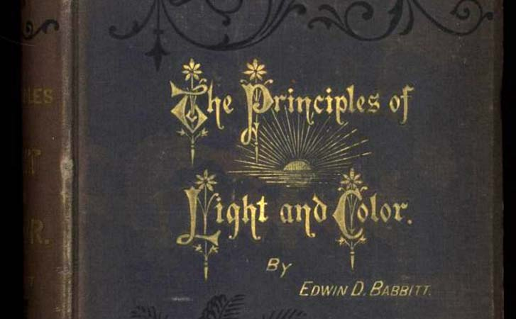 Babbit's Principles of Light and Color IX