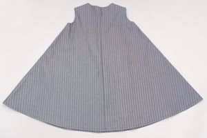 The Classic - in herringbone stripe
