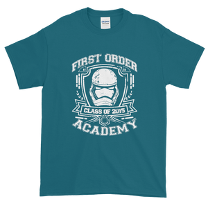 Star Wars First Order Academy Short Sleeve T-Shirt - dropthetee