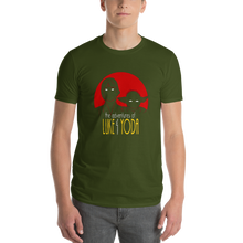 Load image into Gallery viewer, Star Wars - Luke and Yoda Anvil 980 Short-Sleeve T-Shirt - dropthetee