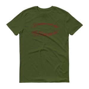 Embrace the day - Short-Sleeve Anvil 980 T-Shirt - dropthetee