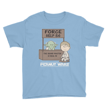 Load image into Gallery viewer, Peanut wars Star Wars theme uses the Force - dropthetee