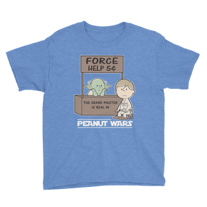 Peanut wars Star Wars theme uses the Force - dropthetee