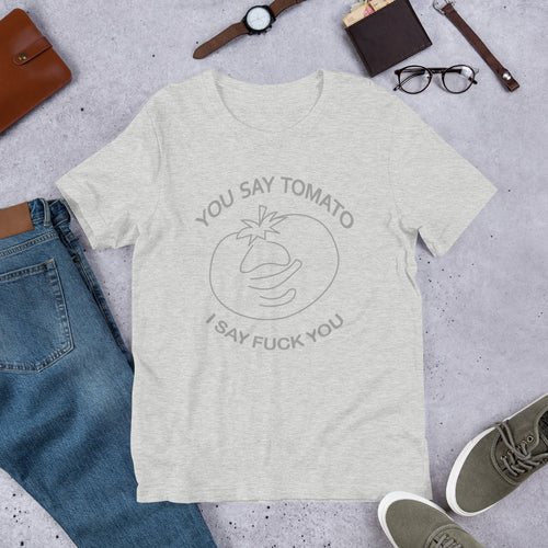You Say Tomato . . . Vintage Tee - dropthetee