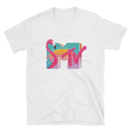 Miami MTV 1980s T-Shirt - dropthetee