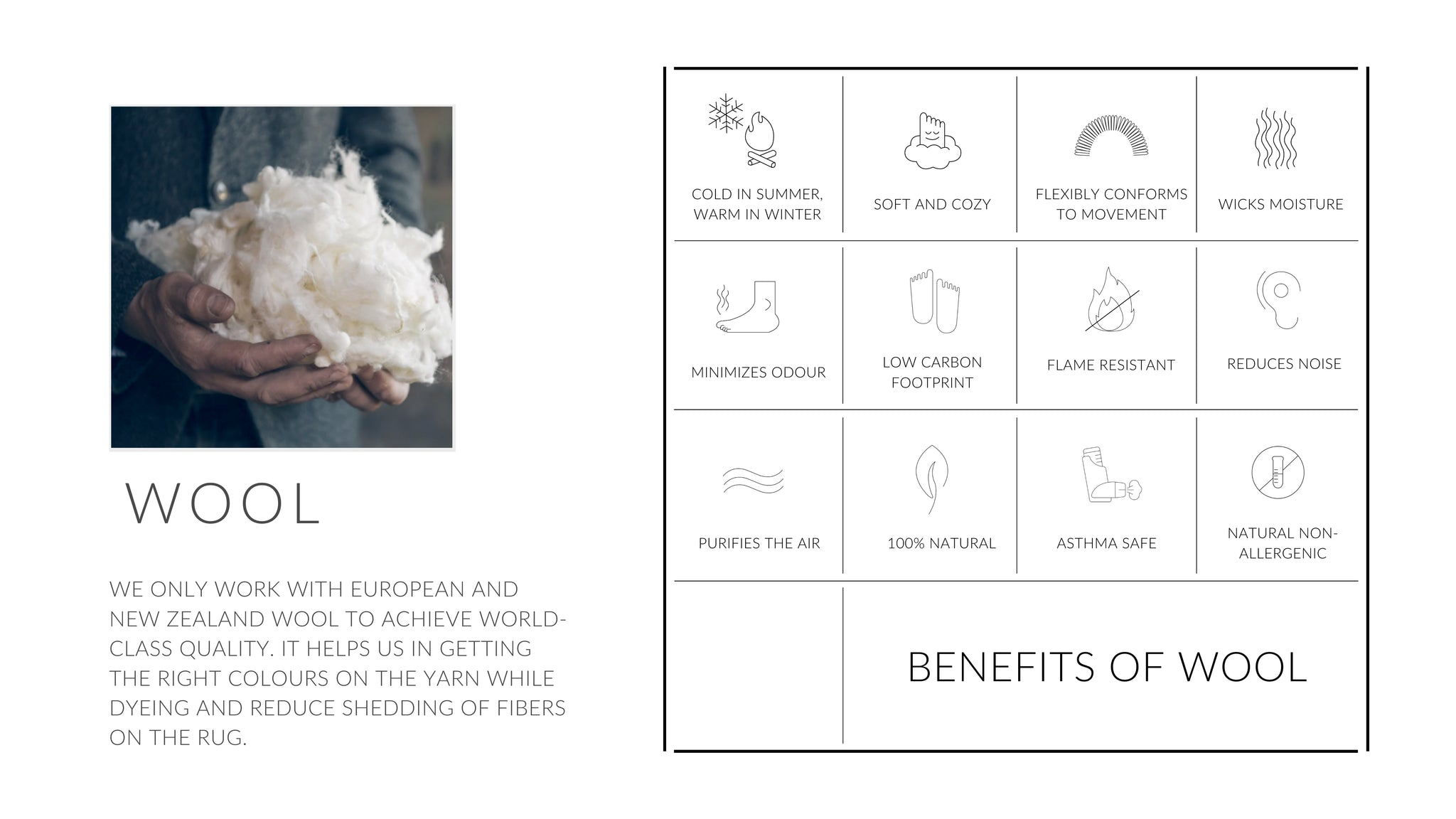 WOOL BENEFITS