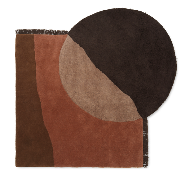 Statement Rug - Brown