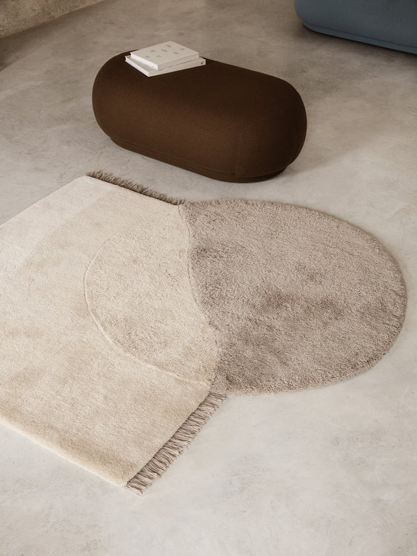 Statement Rug - Beige