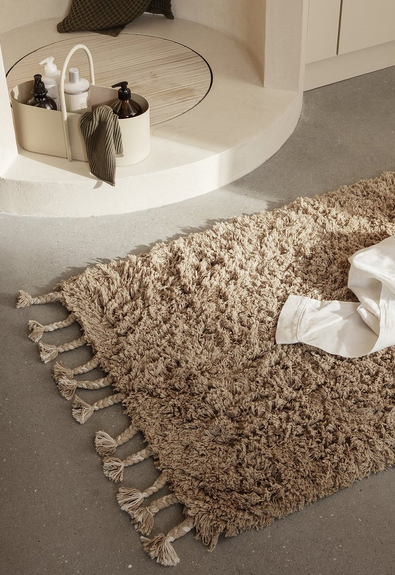 Cotton Shag rug - Sand