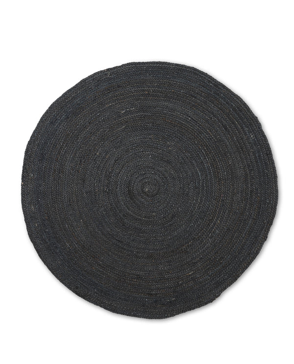 Renewed Jute Rug - Black