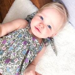 Little Shy New Season Patterned Baby Clothing