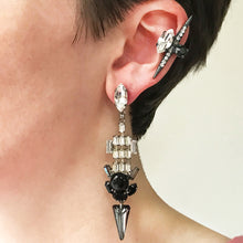 Load image into Gallery viewer, Chrysler Crystal Earrings - Heiter Jewellery