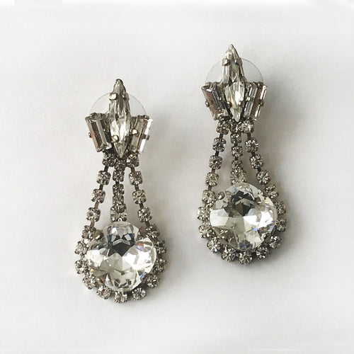 Cryslal Anna Earrings - Heiter Jewellery