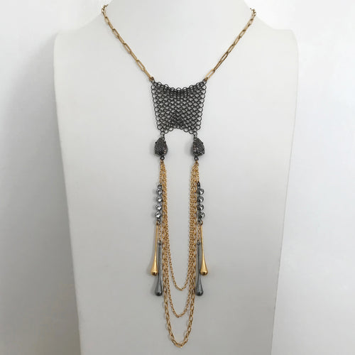 Virginia Mixed Chain Necklace - Heiter Jewellery