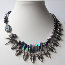 Load image into Gallery viewer, Moon Iridescent Necklace - Heiter Jewellery