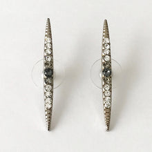 Load image into Gallery viewer, Silver Crystal Stud Earrings - Heiter Jewellery