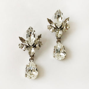 Crystal Tilda Earrings - Heiter Jewellery