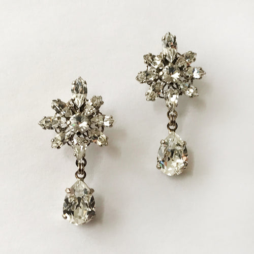 Crystal Liz Earrings - Heiter Jewellery