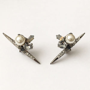 Chrysler Pearl Earrings - Heiter Jewellery