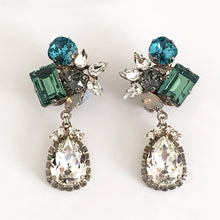 Load image into Gallery viewer, Orlando Crystal drop Earrings - Heiter Jewellery