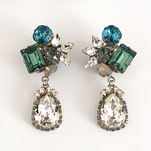 Orlando Crystal drop Earrings - Heiter Jewellery