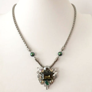 Scarabaeus Pearl Chrysler Necklace - Heiter Jewellery