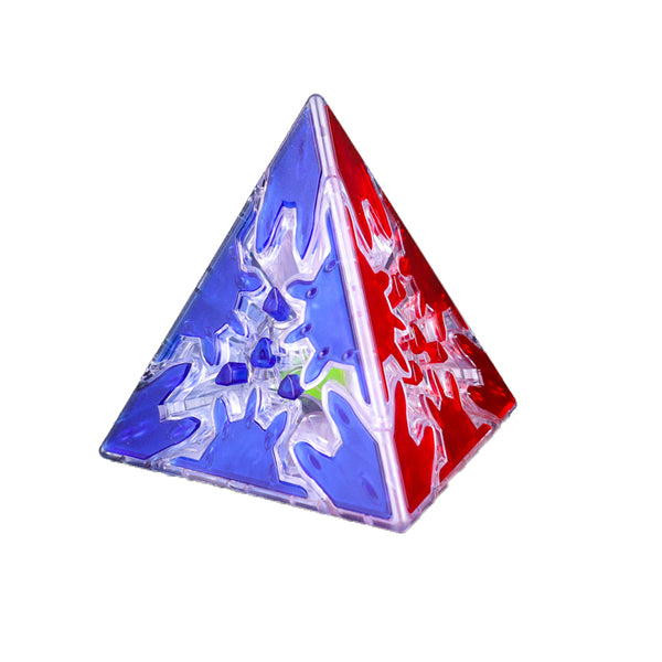 QiYi GEAR PYRAMINX TRANSPARENT