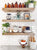 How to: Kitchen Shelf Styling